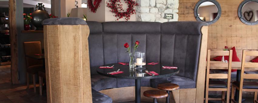 Restaurant Booth at Romneys Kendal